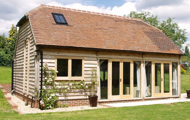 Best 25 garage conversions ideas on pinterest convert for Barn guest house plans