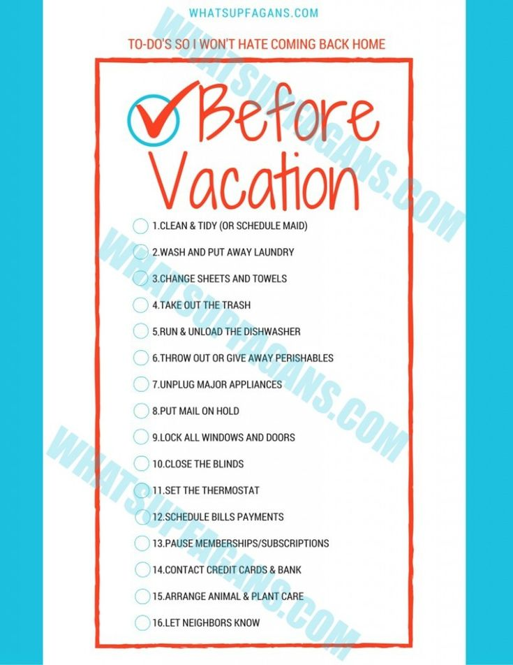 Vacation checklist printable vacation packing checklist packing 483 best travel tips images on pinterest pronofoot35fo Image collections