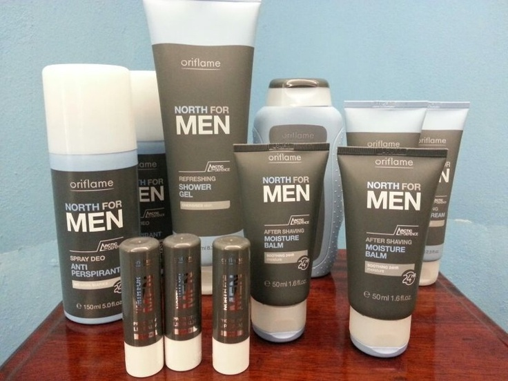 Oriflame products for Men