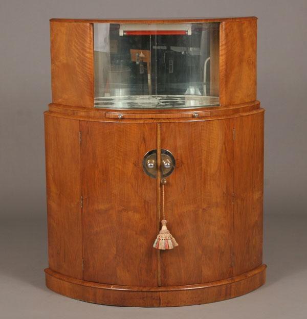 English Art Deco Curved Bar Cabinet - 208 Best ART DECO COCKTAIL CABINET Images On Pinterest Wardrobes