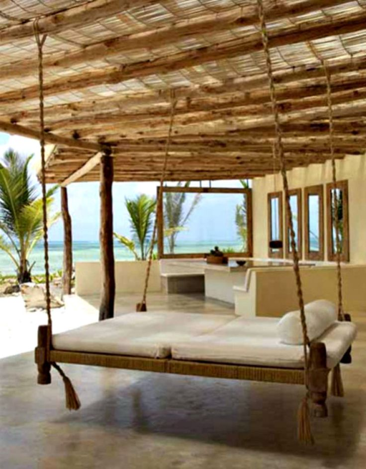 Hanging Beachside Daybed