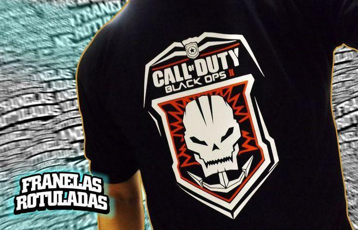Call of Duty Black Ops II  / tshirt / remera / franela