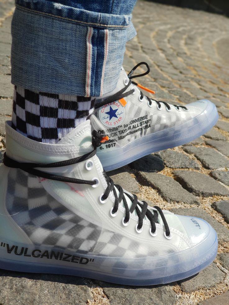 new converse x off white