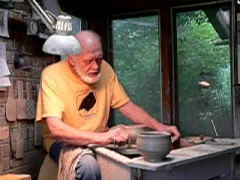 Warren MacKenzie discussing proportion of marks on clay - YouTube