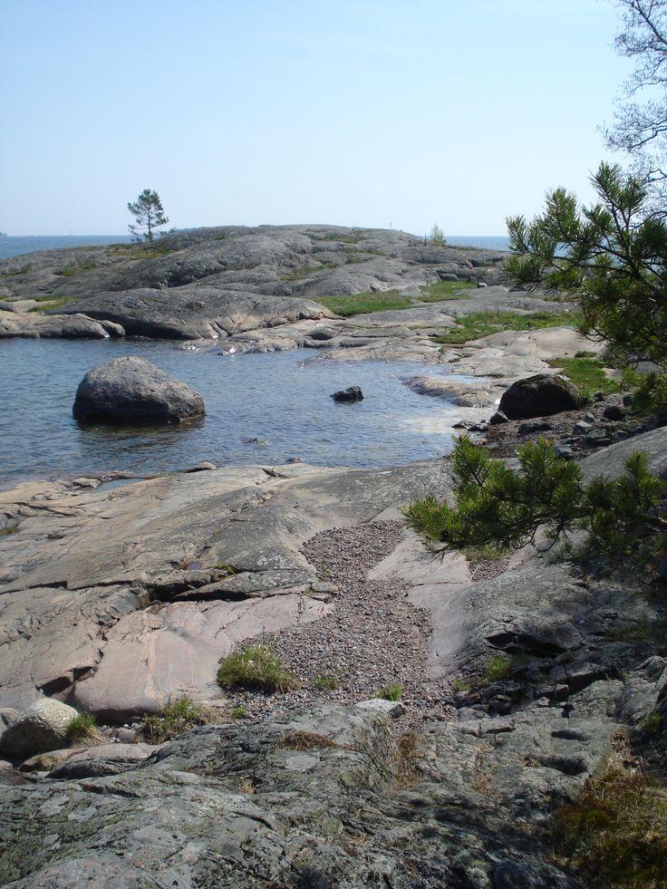 Porkkala archipelago, Räfsö - Porkkalan saaristo, Kirkkonummi 19.5.2014 - Marianne Fahlström