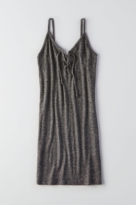 American Eagle Outfitters Lace-up Dress