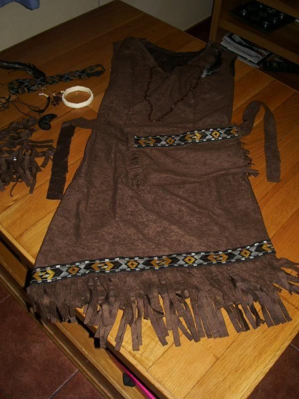 Cómo hacer un disfraz de indio - 7 pasos - unComo