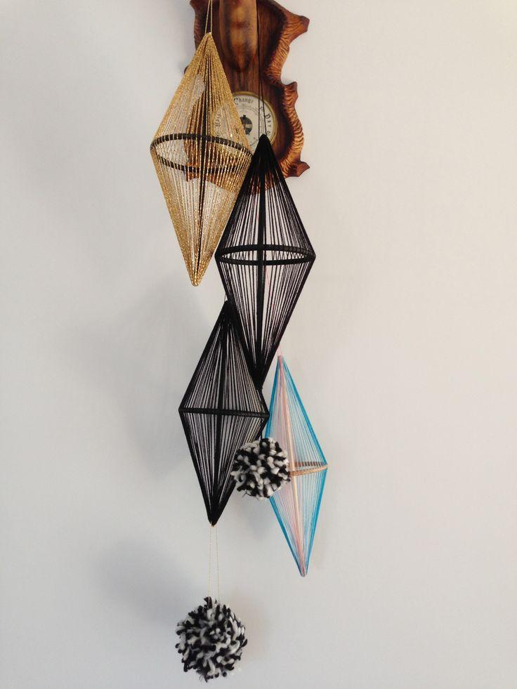 String sculptures