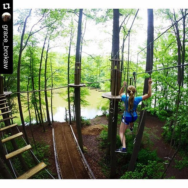 Go Ape Treetop Adventure Course. Plano, Texas (Oak Point Park & Nature Preserve)