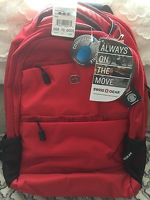 "Swiss Gear Computer Laptop Tablet Backpack Bag Case New Fits 15"" Laptops"