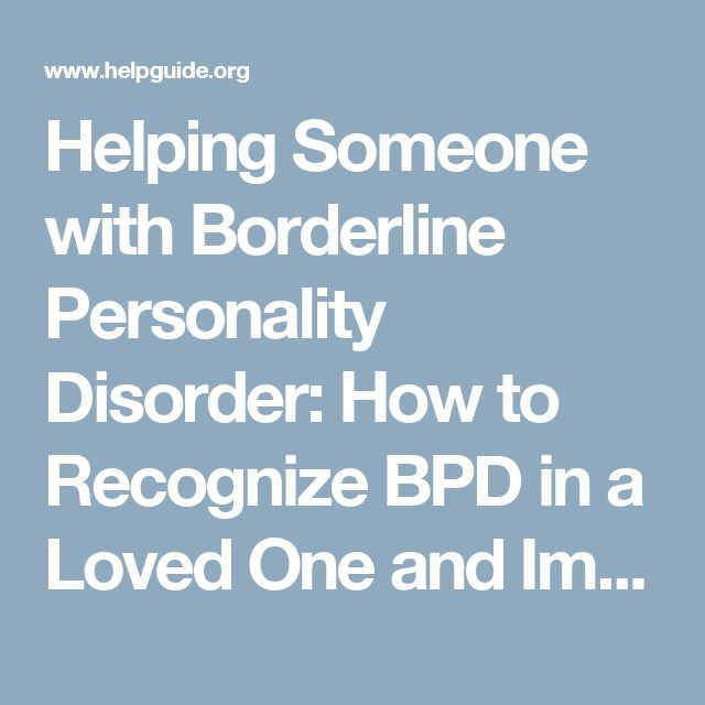 relationship with a bpd