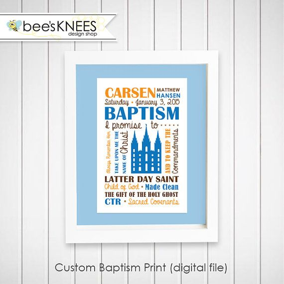 Custom made baptismal covenant printable. Print and frame! Great baptism gift. Custom color and wording available.