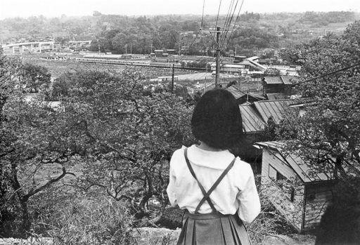 鶴川駅を望む(1970年・昭和45年) 小川洸 能ヶ谷と鶴川「いま・むかし」