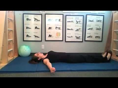 ?? Spinal Galant Reflex Integration exercises Snow angel