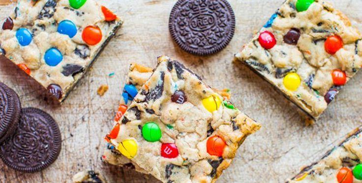 Recept: Super lekkere m&m oreo koekjes repen | Budgi