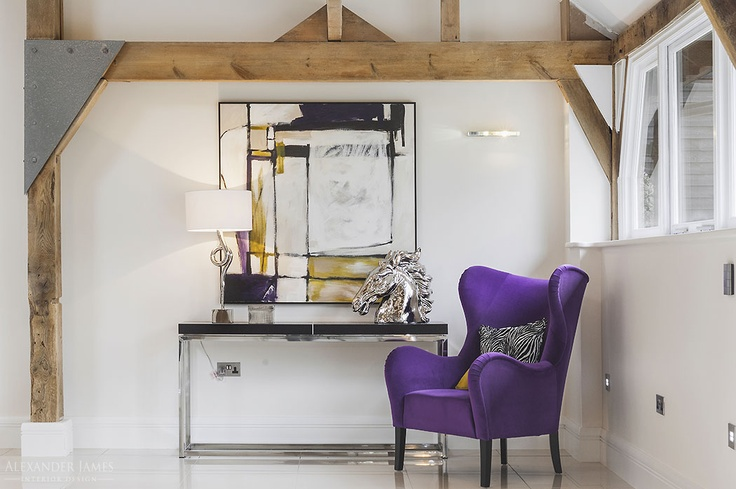 Do you like our colour scheme?  #purple #interiors #design