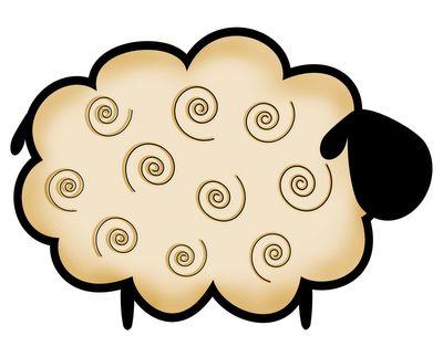 little folk art sheep...                                                                                                                                                      More