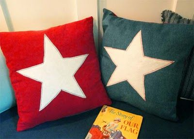 Make your own star pillows
