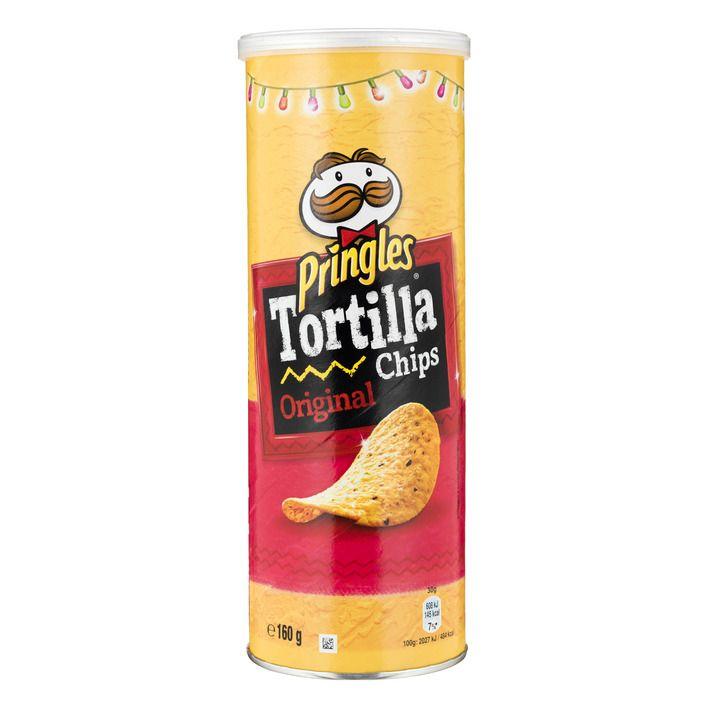 Pringles Tortilla chips original 160 g online bestellen | AH.nl