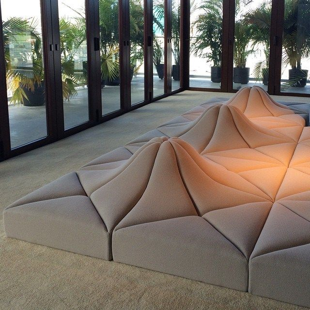 Pierre Paulin's Modular Seating Design as part of Playing with Shapes for Louis…