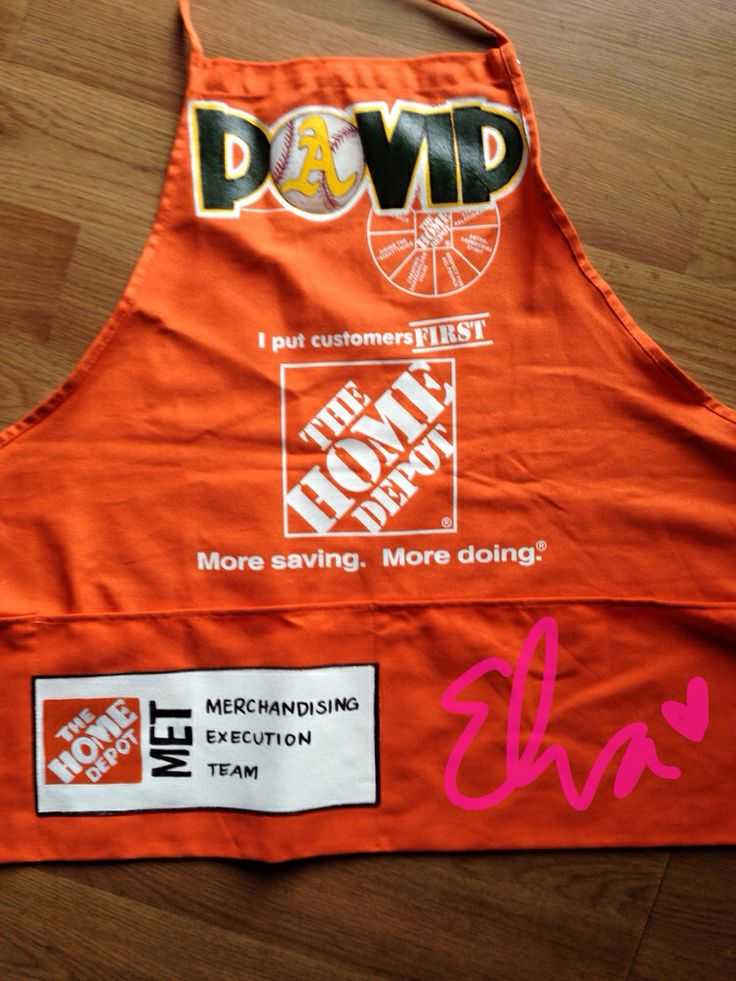 8 best Home Depot images on Pinterest | Aprons, Apron and Apron designs