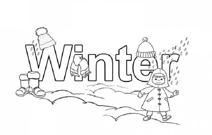 Winter Break Coloring Pages Coloring Pages For Kids