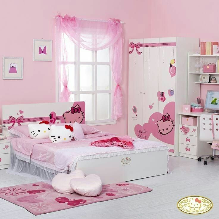 1 633 Likes 29 Comments Shabana Sheikh Fame Princess Shabanasheikh On Instagram 1 2 3 4 Hello Kitty Rooms Hello Kitty Bedroom Decor Hello Kitty Bedroom