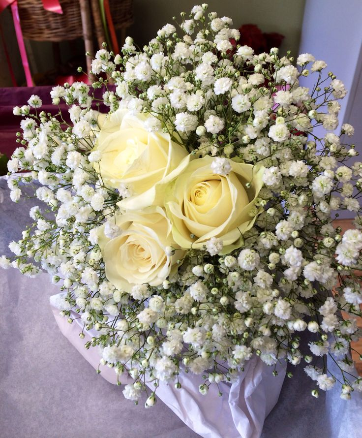 Simple bouquet with gyp