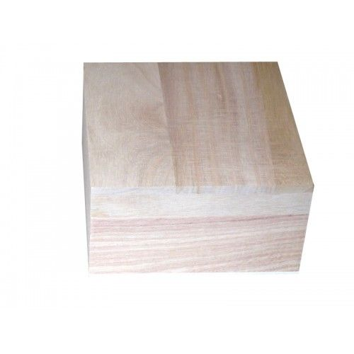 11cm Plain Wooden Small Square Trinket Box - Small Wooden Trinket & Favour Boxes - Plain Wooden Boxes | The Wooden Box Mill