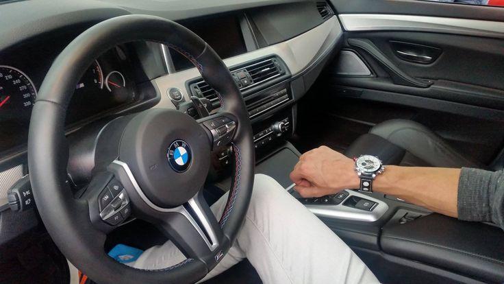 BMW M5 a Weide WEI3401, to je skvělá kombinace.