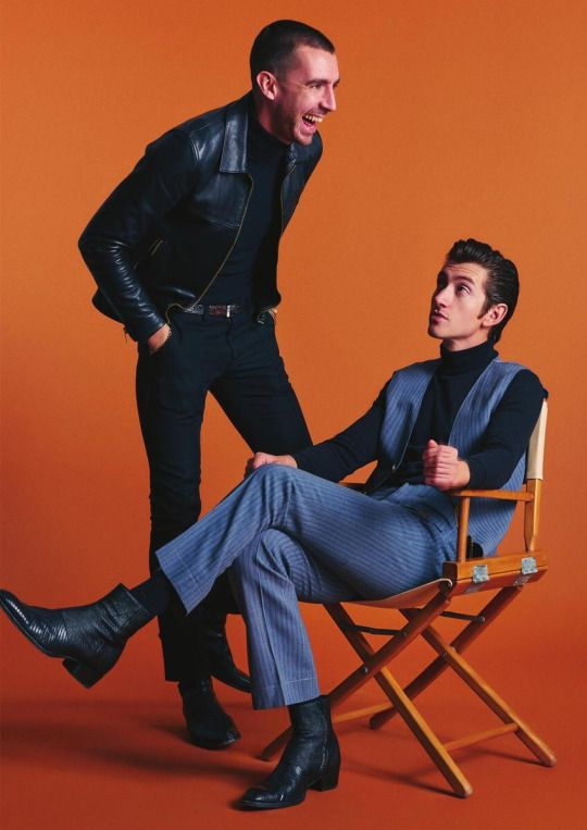 The Last Shadow Puppets - Alex Turner and Miles Kane