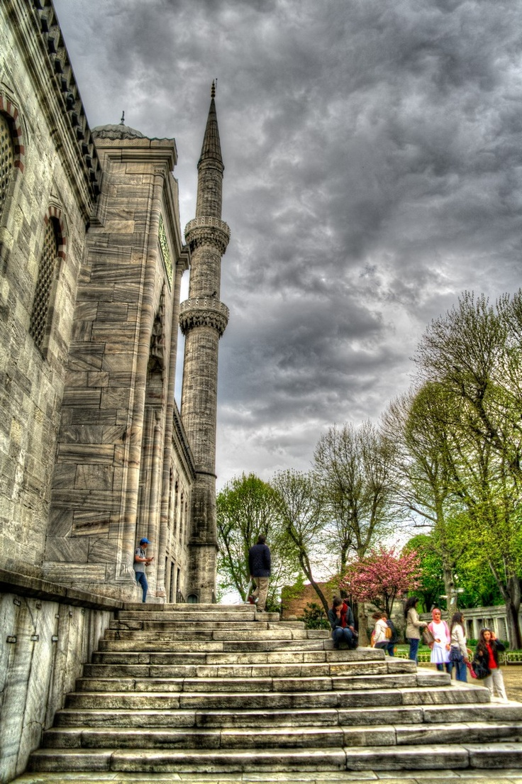 Blue Mosque Istanbul HDR