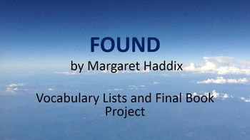 found margaret p haddix Found one night a plane appeared out of nowhere, the only passengers aboard: thirty-six babies as soon as they were taken off the plane, it vanished but before chip.