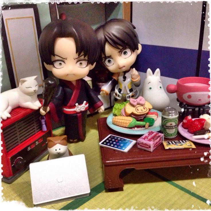 My name is Levi, the main protagonist of Shingeki no Kyojin. Who the heck are you, Shikishima???