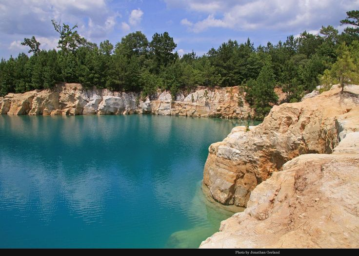 Beautiful Water At The Blue Hole in Jasper, Texas ---- Texas News Blog