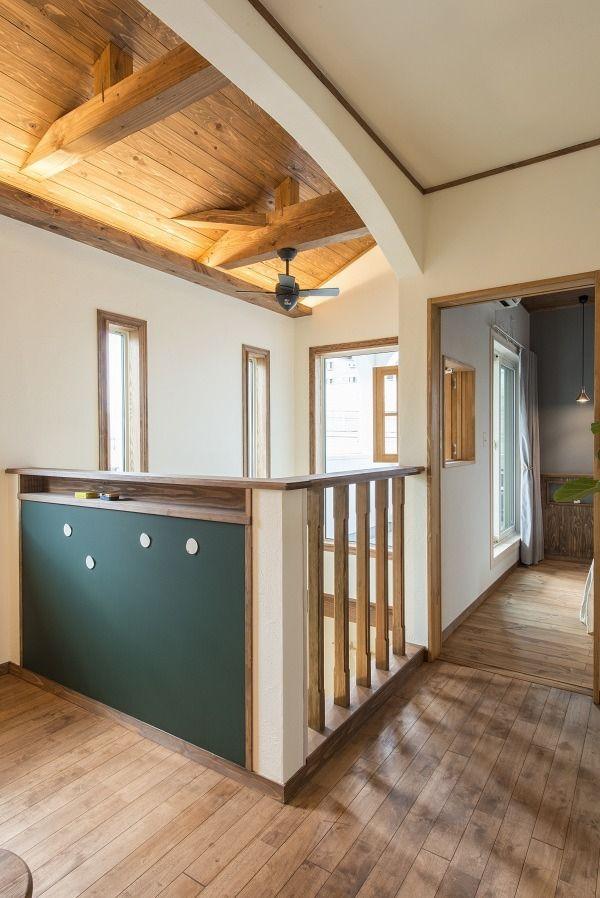 階段 廊下 モデルハウス ナチュラルハウスの写真集 埼玉県越谷市の