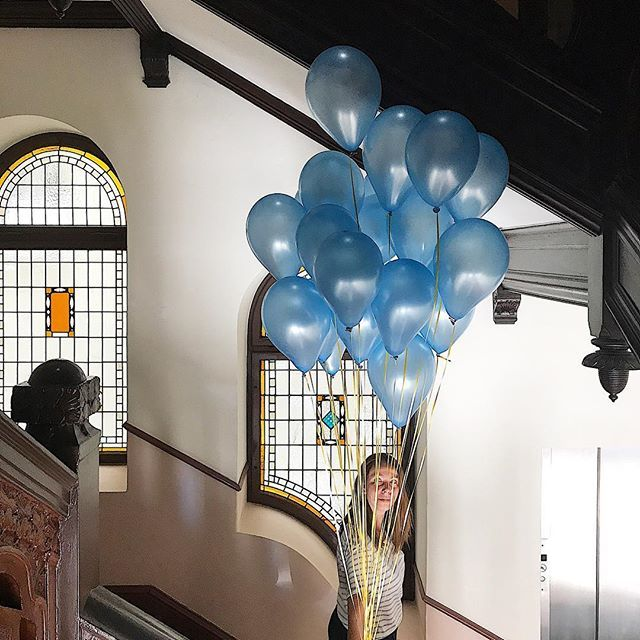 Getting ready for our Grand Opening today #ibc_studio #impulse_bc #weloveballons #grandopening #studiospace #rentalstudio #pragency #interiordesign #wilmersdorf #berlin