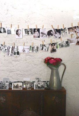 A lovely way to display photos