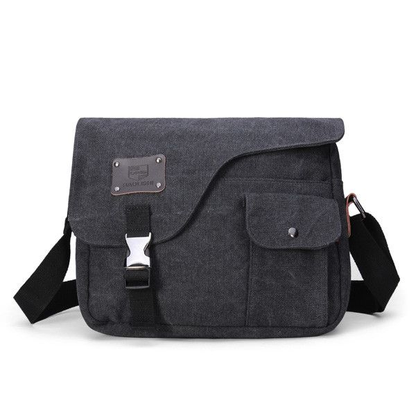 Vintage Canvas Messenger Shoulder Crossbody Outdoor Bag