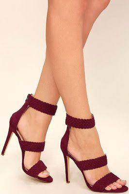 Ankle Heels Rojos Zapatos Strap Pinterest Hermosos qfxga