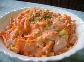 Receptelő: Sárgarépa saláta