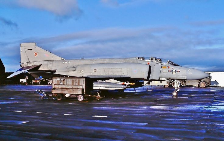 Phantom FGR 2 23Sqn RAF Stanley 20684 RAF F4 Phantom