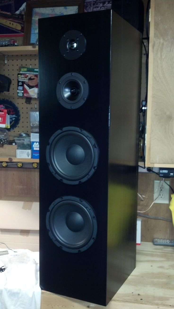 4 driver 3way floor standing tower speaker speaker