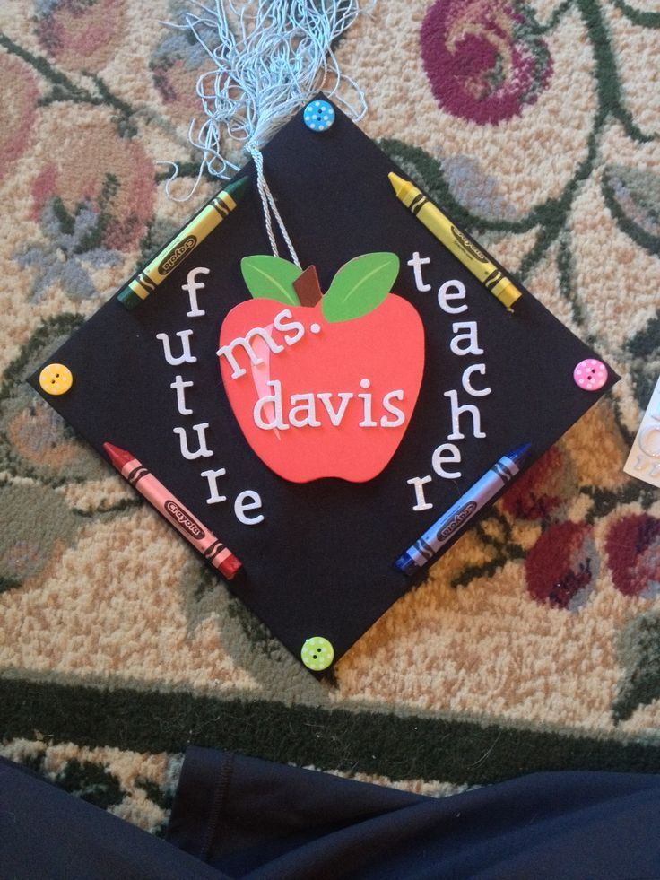 teacher graduation cap ideas | Graduation Cap
