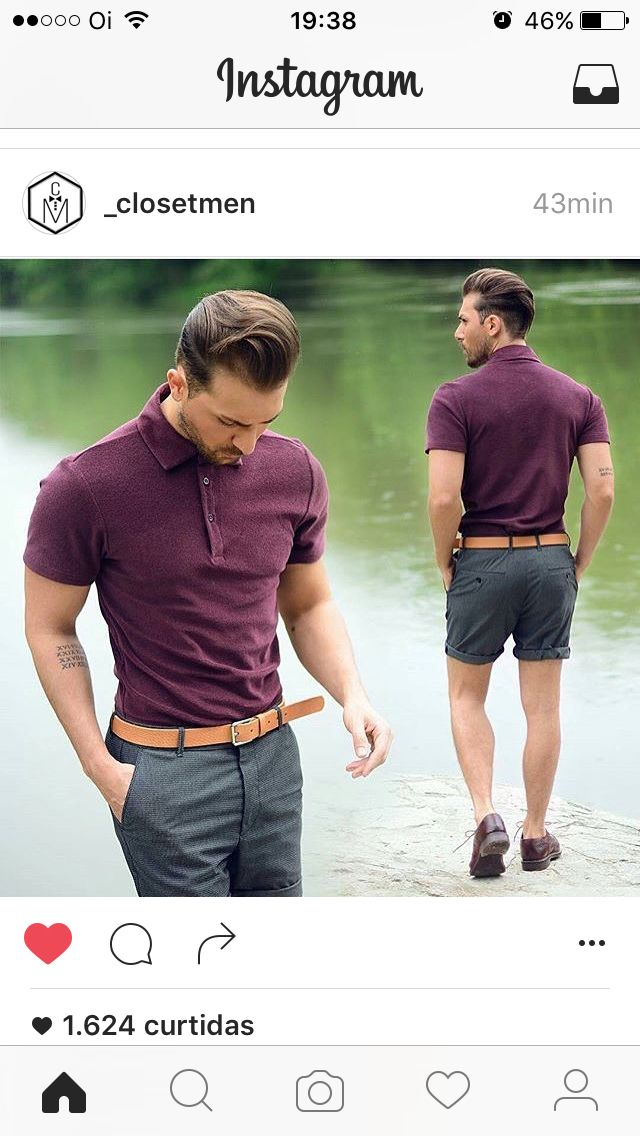 Like the polo but the shorts are a bit short for my taste though