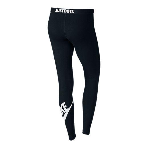 Nike Leg-A-See Women's Tights - 010 BLACK