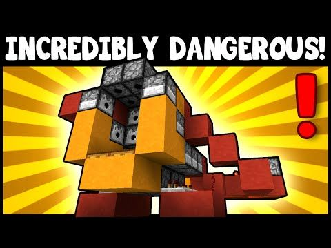 SUPER DESTRUCTIVE TNT CANNON! - Minecraft Tutorial - YouTube