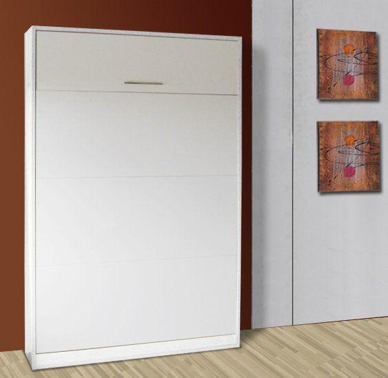 Armoire lit escamotable VERTIGO, couchage 140 * 14 * 200 cm. Personalisable en 9 coloris
