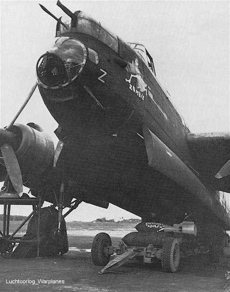 "birdspotter: ""Zombie"" Lancaster Bomber #RAF"