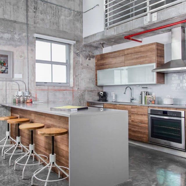 Industrial loft in Miami, Florida photographed by Alex McKenzie Photography # ...